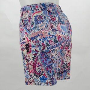 Tommy Bahama Size 12 Paisley Shorts